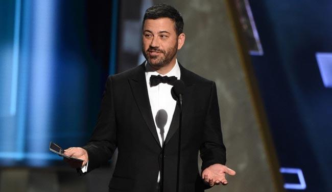 Jimmy Kimmel hosted Emmys 2016