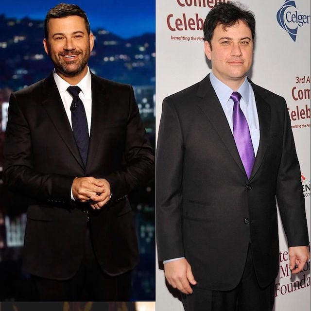 Jimmy Kimmel before and after