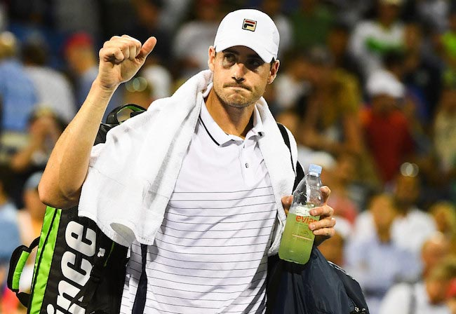 John Isner loss Kyle Edmund 2016 US Open