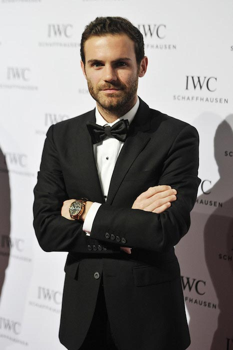 "Juan Mata IWC ""Come Fly With Us"" Dinner Night January 19, 2016 Geneva, Switzerland"