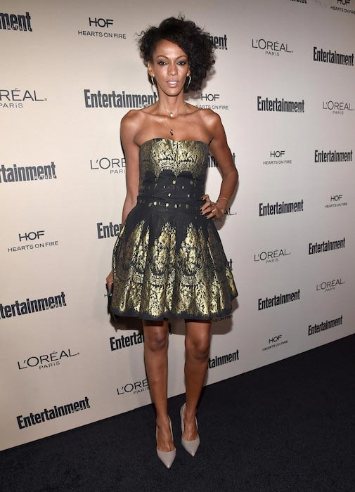 Judi Shekoni at the 2015 Entertainment Weekly Pre-Emmy Party in West Hollywood