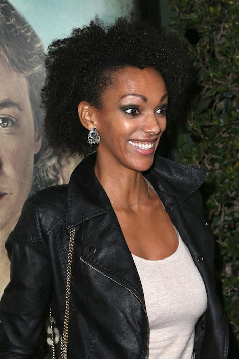 "Judi Shekoni at the premiere of Focus Features' ""Suffragette"" on October 20, 2015"