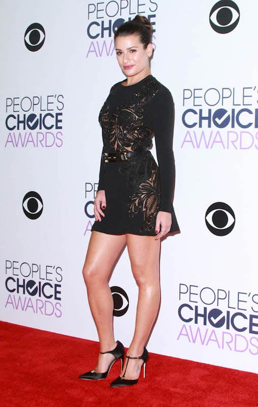 Lea Michele during 2016 People's Choice Awards