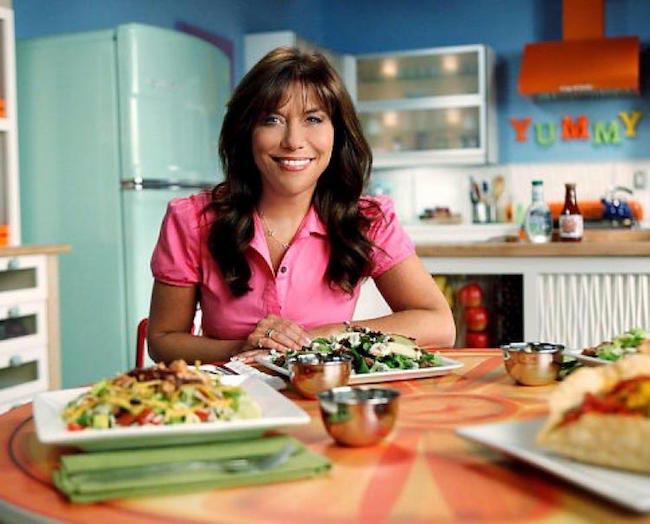 Lisa Lillien eating food