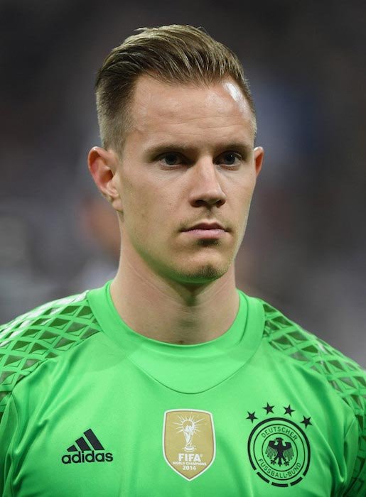 Marc-Andre Ter Stegen before an International Friendly match between Germany and Italy on March 29, 2016