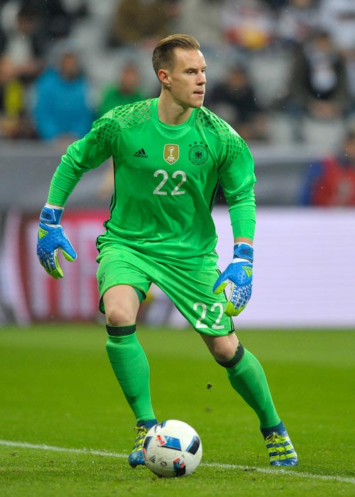 Marc-Andre Ter Stegen during a match between Germany and Italy on March 29, 2016