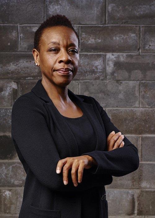 Marianne Jean-Baptiste in a still from her Warner Channel TV series Blindspot