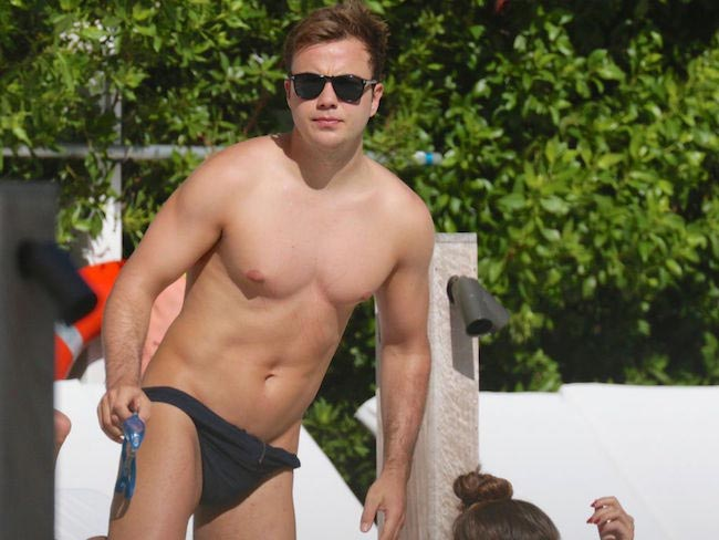 Mario Gotze shirtless body