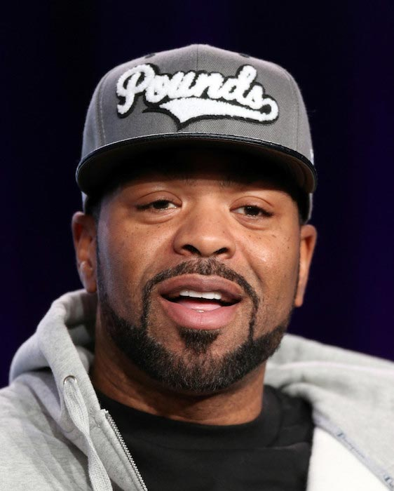 Method Man speaks during the 2014 Television Critics Association Press Tour in California