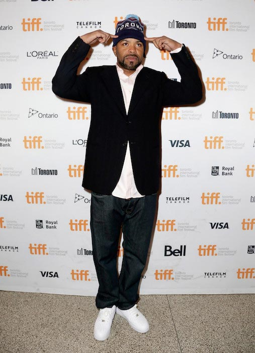Method Man at the premiere of The Cobbler on September 11, 2014 in Toronto, Canada