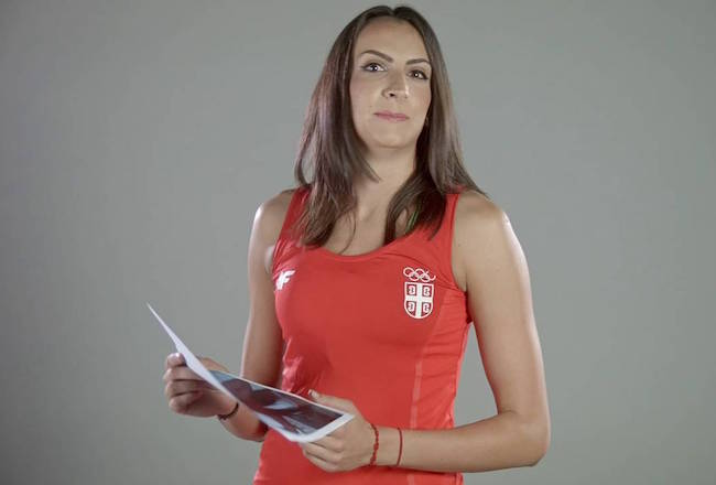 Milena Rasic photoshoot Serbian national team
