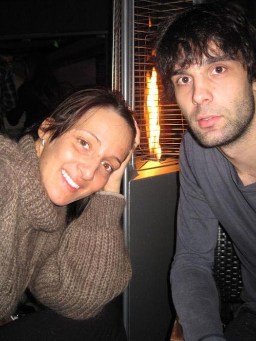 Milos Teodosic and Maja Ognjenovic