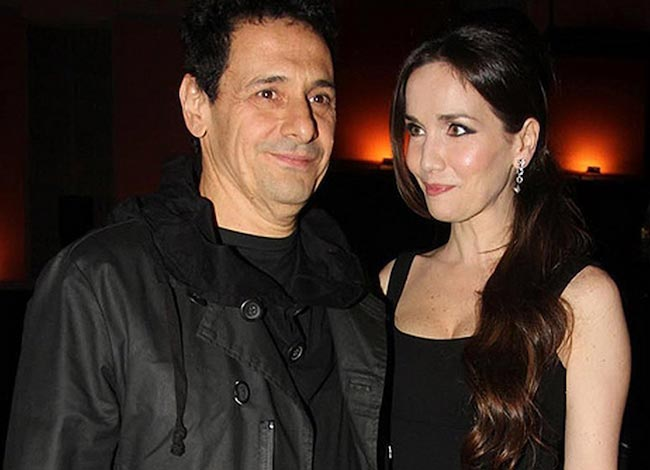 Natalia Oreiro and husband Ricardo Mollo