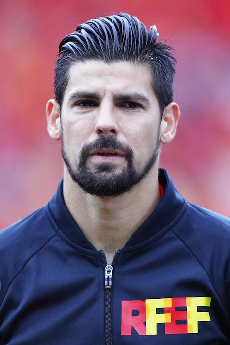 Nolito before a match between Spain and Czech Republic on June 13, 2016 in Toulouse, France