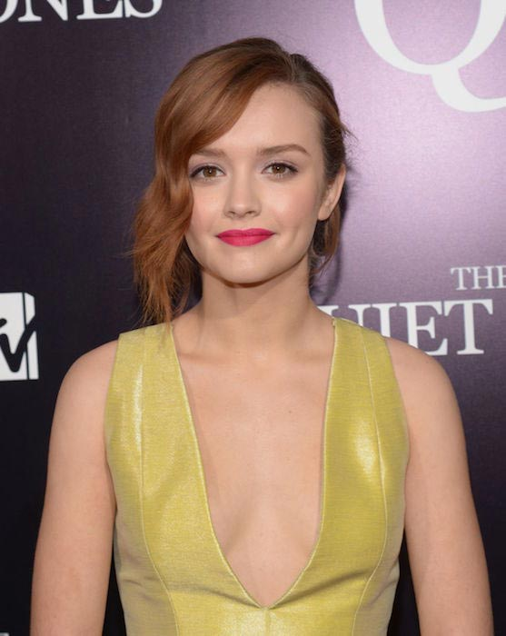 Olivia Cooke at the premiere of the Quiet Ones in LA on April 22, 2014