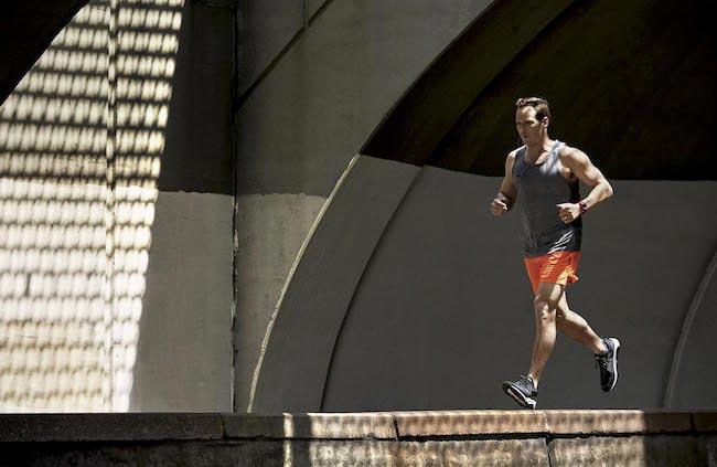 Patrick Wilson runs in his hometown in Upper Montclair New Jersey in June 2016