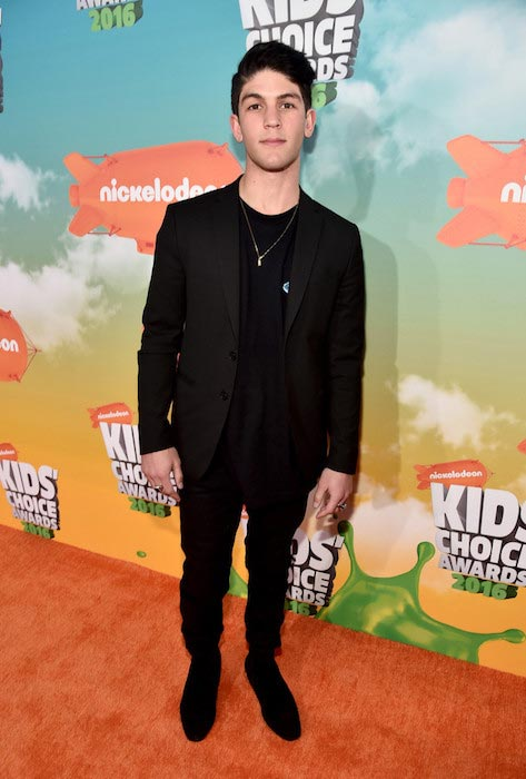 Rahart Adams at Nickelodeon's 2016 Kids' Choice Awards on March 12, 2016 in Inglewood, CA