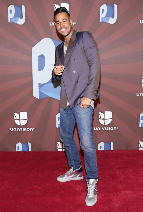 Romeo Santos during the Premios Juventud 2014 in Coral Gables, Florida
