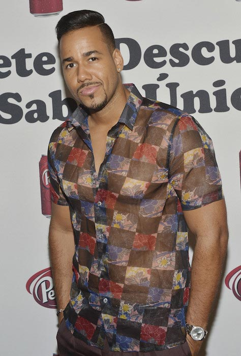 "Romeo Santos at the A'Dare to DiscoverA"" campaign on July 15, 2015 in Miami Beach, Florida"