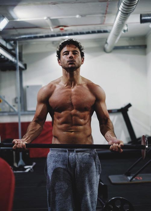 Ryan Thomas gym training