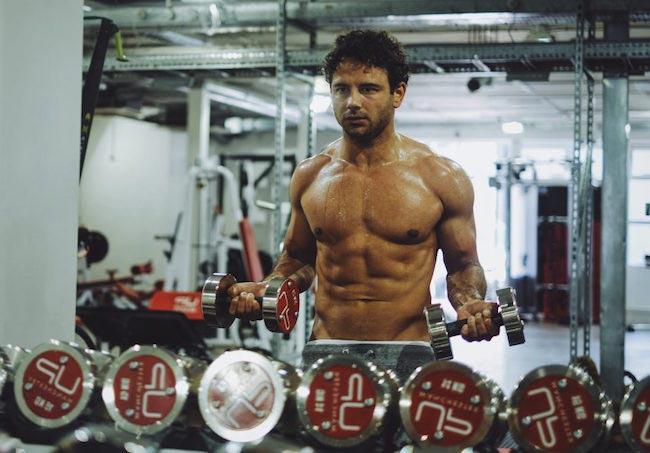 Ryan Thomas training