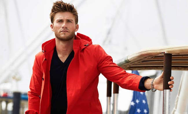 Scott Eastwood looks dapper in the photoshoot