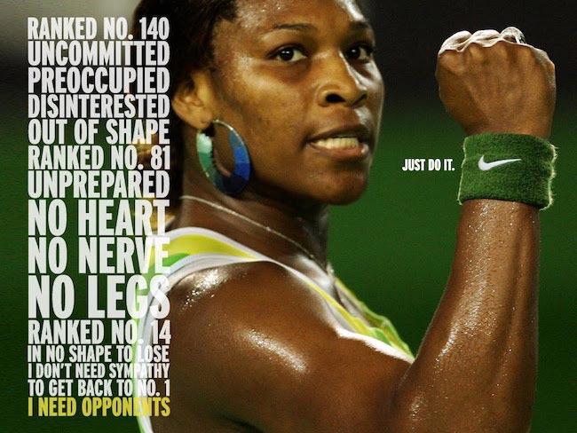 Serena Williams Nike ambassador