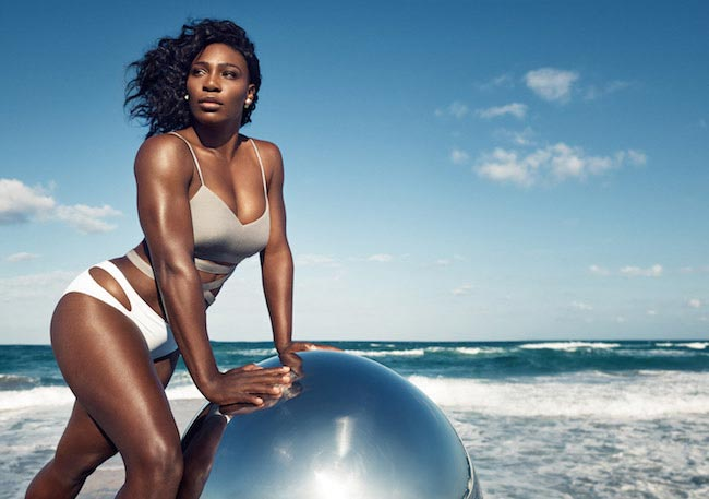 Serena Williams seaside photoshoot