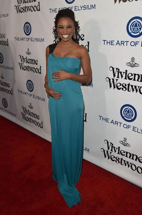 Shanola Hampton at The Art of Elysium 2016 Heaven Gala in Culver City
