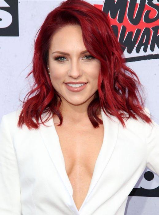 Sharna Burgess at iHeartRadio Music Awards 2016