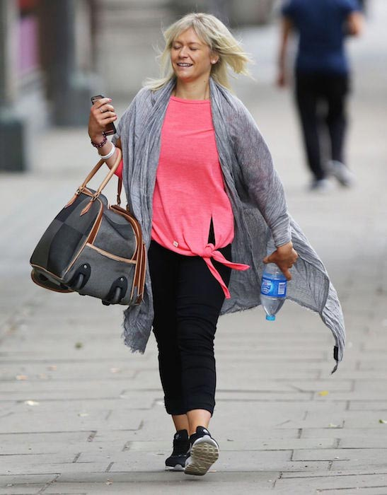 Suzanne Shaw out and about in London on July 8, 2016