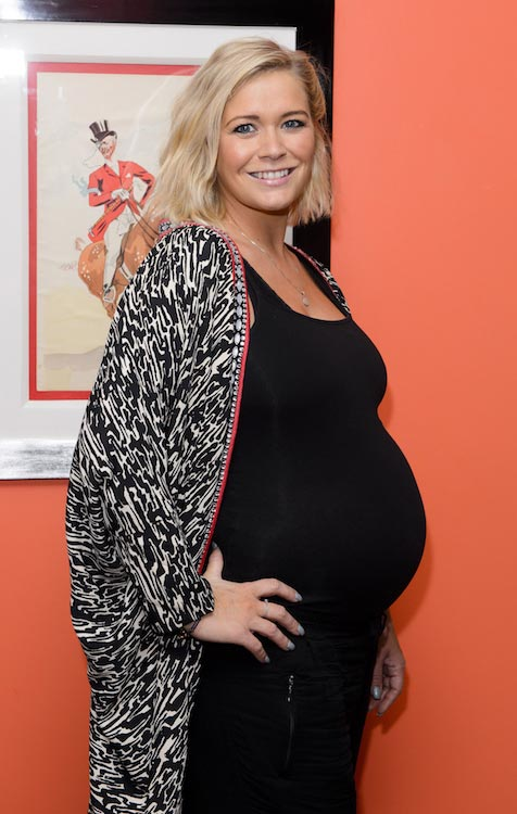 Pregnant Suzanne Shaw