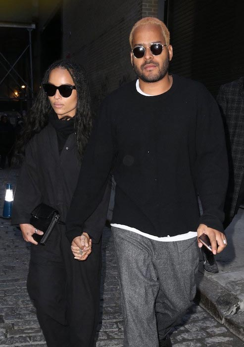 Twin Shadow and Zoe Kravitz February 18, 2016