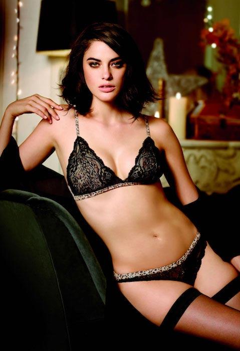 Alejandra Alonso Women Secret Xmas Collection lookbook Winter 2013