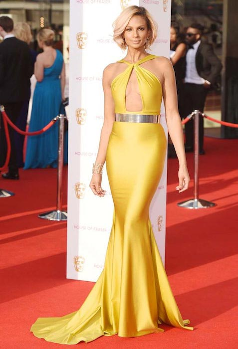 Alesha Dixon at the House of Fraser BAFTA TV Awards 2016