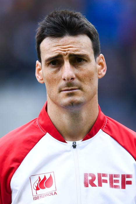 Aritz Aduriz international friendly Spain and Bosnia May 29, 2016 Switzerland