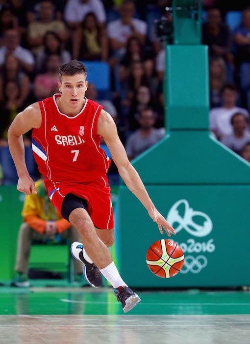 Bogdan Bogdanovic Croatia Men's Basketball Quarterfinal game 2016 Olympic Games Rio August 17, 2016
