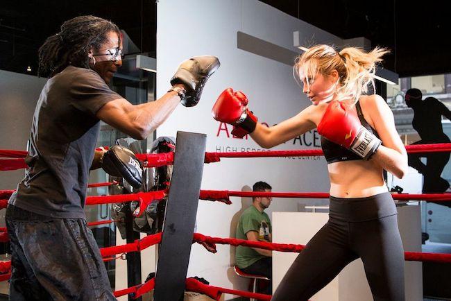 Bridget Malcolm boxing