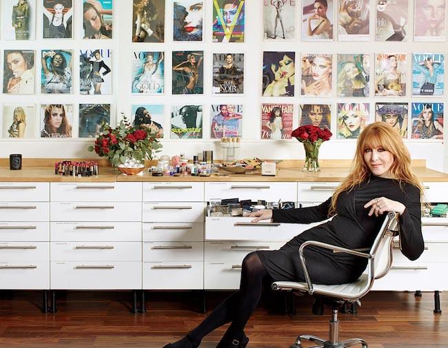 Charlotte Tilbury makeup artist