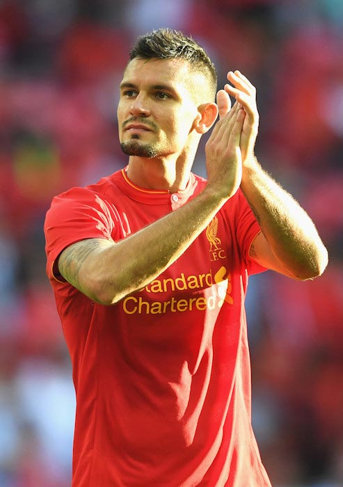 Dejan Lovren Liverpool's supporters International Champion Cup match Barcelona FC August 6, 2016