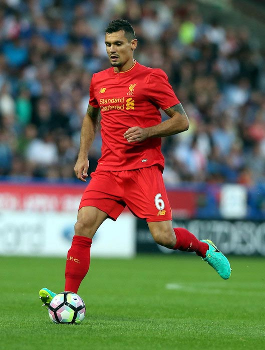 Dejan Lovren friendly match Liverpool and Huddersfield Town July 20, 2016