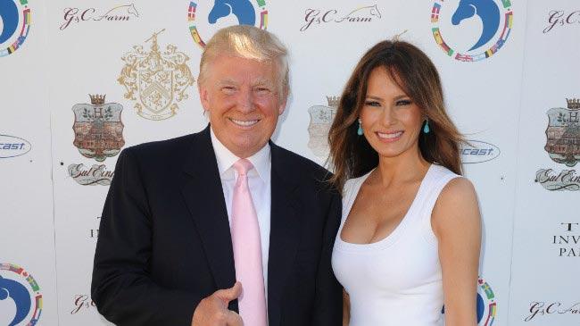 Donald Trump third wife Melania event G&C farms December 2012