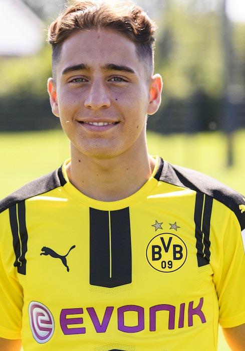 Emre Mor Borussia Dortmund August 17, 2016
