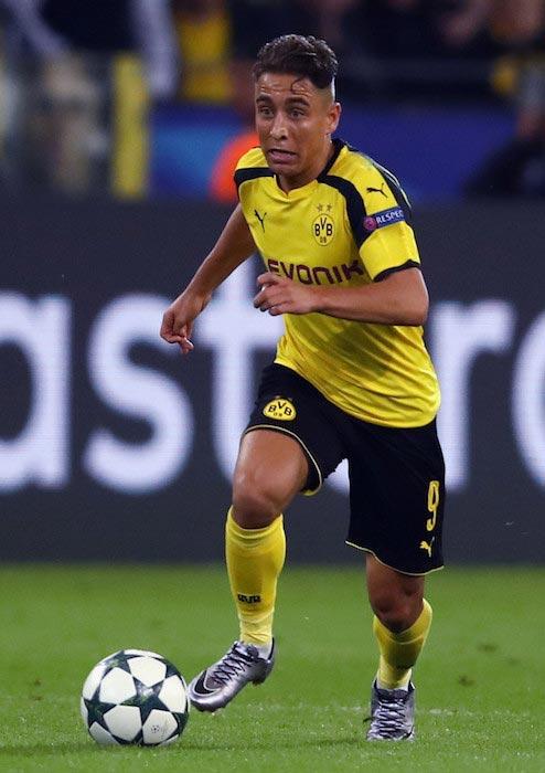 Emre Mor team Borussia Dortmund against Real Madrid September 27, 2016