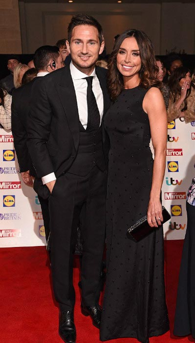 Frank Lampard and Christine Bleakley Pride of Britain Awards Grosvenor House Hotel London