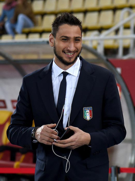 Gianluigi Donnarumma FIFA 2018 World Cup Qualifier Italy and FYR Macedonia October 9, 2016