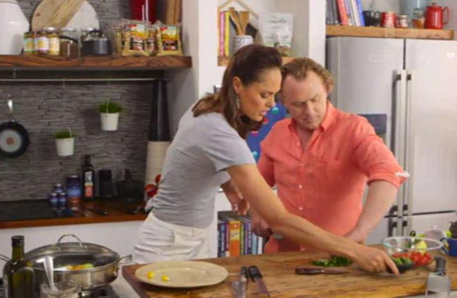 Good Chef Bad Chef season 8 chef Adrian Richardson and nutritionist Zoe Bingley-Pullin