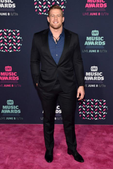 J. J. Watt at 2016 CMT Music Awards