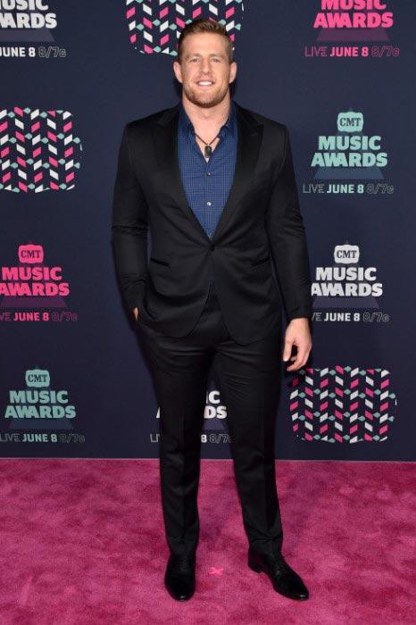 J. J. Watt at 2016 CMT Music Awards