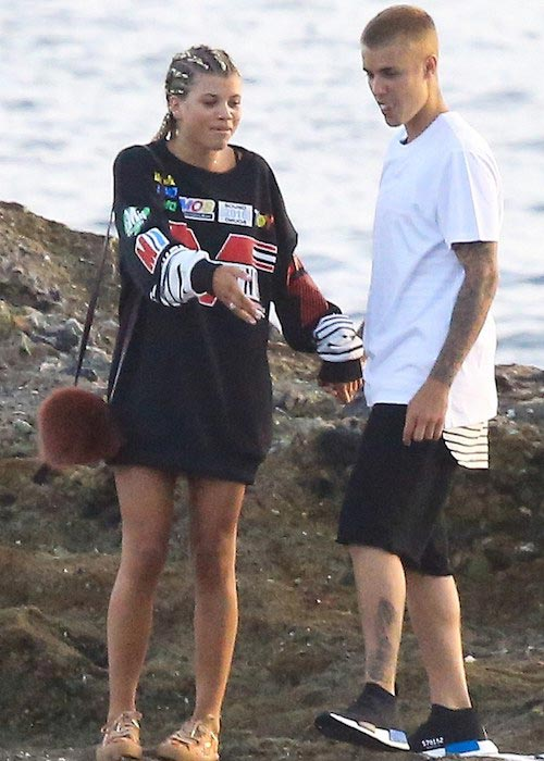Justin Bieber and Sofia Richie